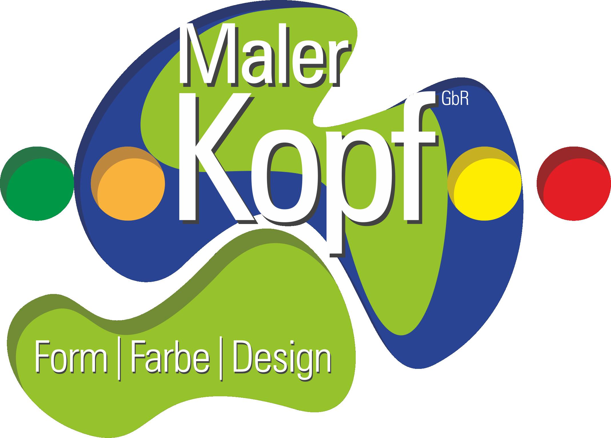 Logo Maler Kopf
